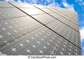 sorozat, közül, nap- energia bizottság