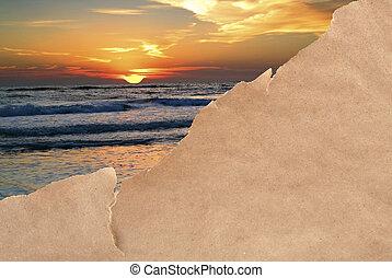 sorpresa, vacaciones de playa