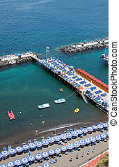 sorrento, italia, costa, amalfi