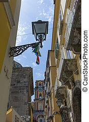 Sorrento, a nice town near N, cityscape.aples