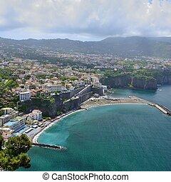 Sorrento - costiera sorrentina vista panoramica