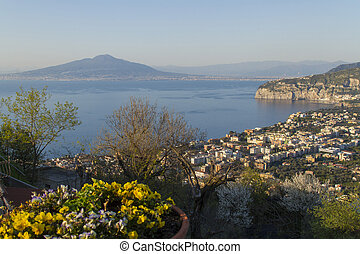 sorrento - View of sorrento - amalfi coast - italy