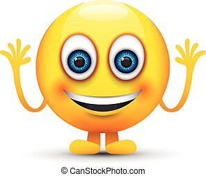 sorridente, emoji