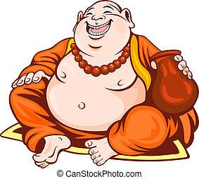 sorridente, monaco