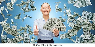 Resultado de imagem para sorrindo com dinheiro