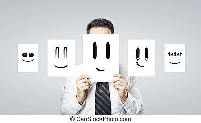 sorrizo, papel