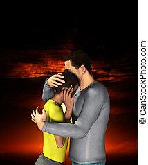 Sorrowful Hug