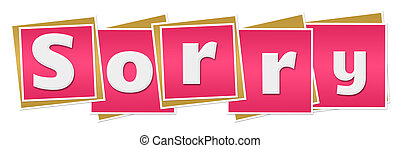 Sorry Pink Blocks