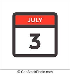 sort, dag, måned, kalender, røde w, ikon