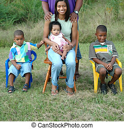 sort familie