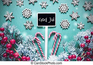 sort, jul, tegn, gud, jul, betyder, glædelig jul