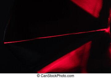 sort rød