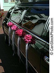 sort, strækning limousine