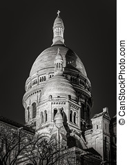 sorte hvide, coeur sacre, basilica, nat hos, montmartre, paris