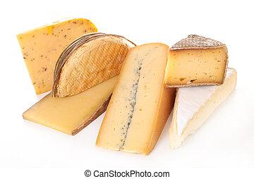 sorteret ost