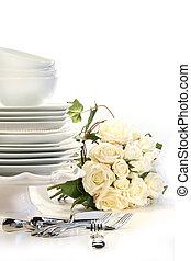 sortering, bröllop, pläterar