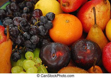 sortido, fruta fresca