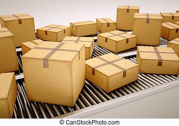 sorting., パッケージ