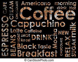 sorts, coffe, achtergrond