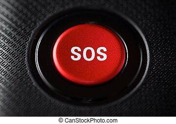 SOS button view