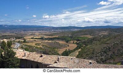 Sos del Rey Catolico medieval village in Zaragoza province,...