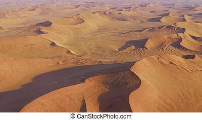 Sossusvlei desert panorama