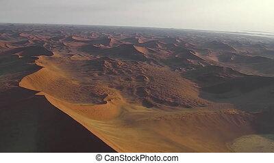 Sossusvlei dunes flight