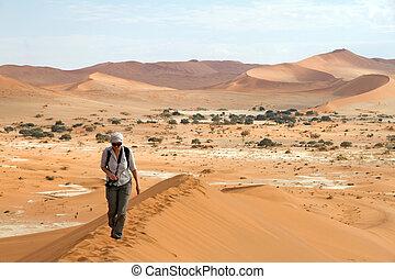 sossusvlei, parque, namibia