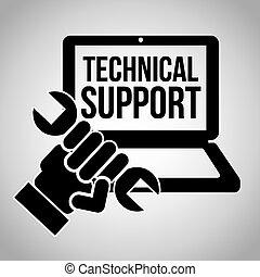 sostegno, computer