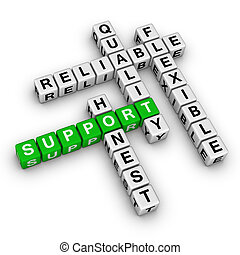 sostegno, cruciverba