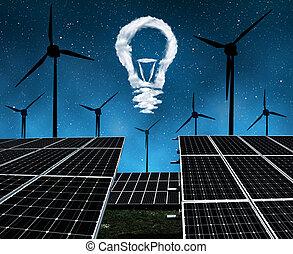 sostenibile, concetto, risorse