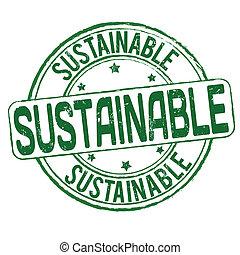 sostenibile, francobollo