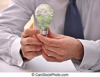 sostenibilidad, conservación, pensar