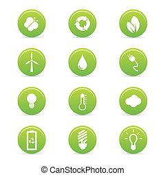sostenibilidad, iconos