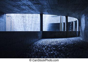 sotterraneo, corridoio