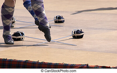 Sottish Dancing - Scottish highland dancing