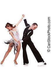 soucitný, pojit tančení, latino tančení