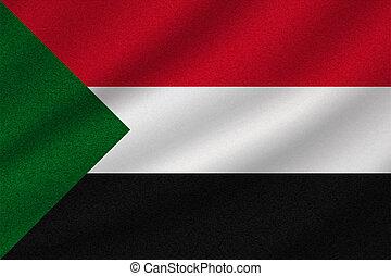 soudan, drapeau national