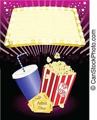 soude, pop-corn, cinéma