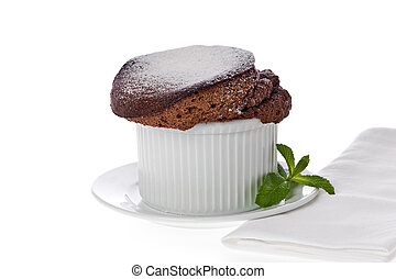 souffle chocolate