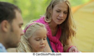 souffler, délassant, famille, nature, quoique, merveilleux, bulles, savon