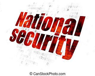 soukromí, národnostní, grafické pozadí, digitální, bezpečí, concept: