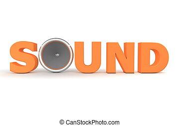 Sound and Speaker - Orange