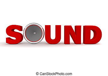 Sound and Speaker - Red - red word Sound - the letter o is...