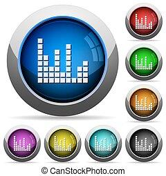 Sound bars button set