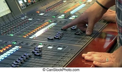 Sound control panel profeshional