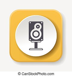 Sound equipment icon
