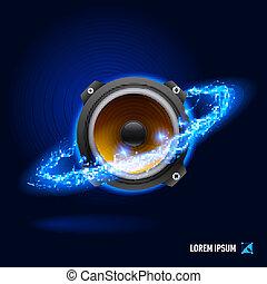 Sound high voltage