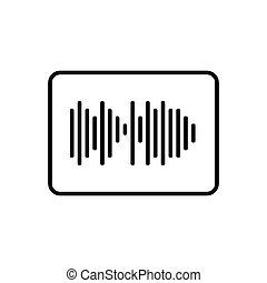 Sound impulse icon