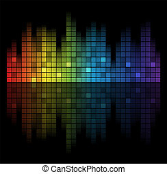 Sound of Music - Abstract music inspired graphic equalizer...